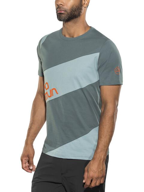 La Sportiva M's Slab T-Shirt Slate/Stone Blue